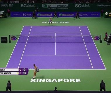 Radwańska przegrała z Kerber w WTA Finals. Skrót meczu