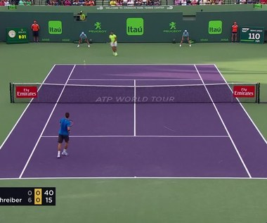 Rafael Nadal - Philipp Kohlschreiber 0:6, 6:2, 6:3. Wideo