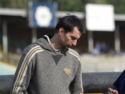 """Rafał Dobrucki ocenia swój sezon na """"trójkę z plusem"""" Fot. Krystyna Pączkowska /Agencja Przegląd Sportowy"""