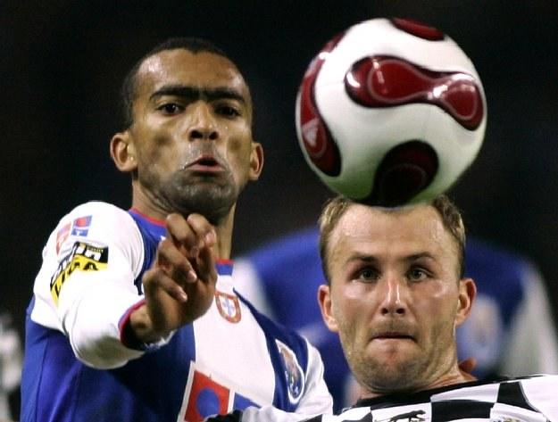 Rafał Grzelak jeszcze w barwach Boavisty Porto /AFP
