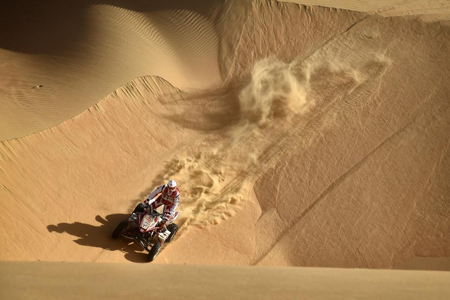 Rafał Sonik na trasie Abu Dhabi Desert Challenge /Team Rafała Sonika /materiały prasowe