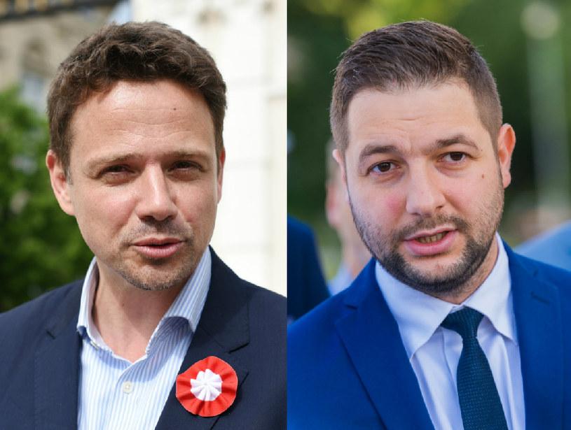 Rafał Trzaskowski (fot. Justyna Rojek, East News) i Patryk Jaki (fot. Marek Konrad, REPORTER) /East News