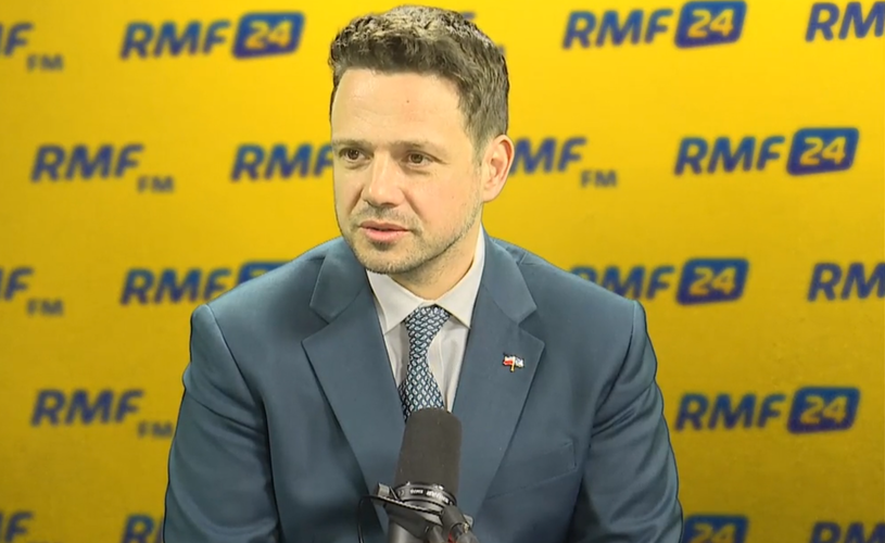Rafał Trzaskowski w RMF FM /RMF