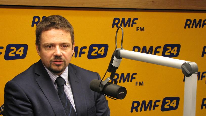 Rafał Trzaskowski /RMF
