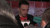 Rafał Wolski po meczu z Meksykiem (0-1). Wideo