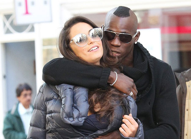 Raffaella Fico i  Mario Balotelli /Eamonn-and-James-ClarkeEMPI /East News