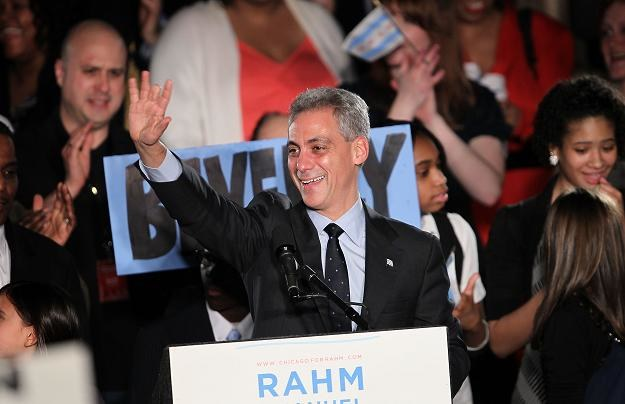 Rahm Emanuel /AFP