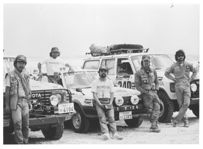 Rajd Dakar 1982 rok /