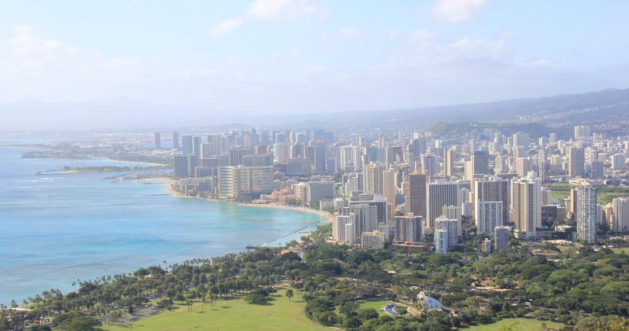 Rajski ślub na Hawajach