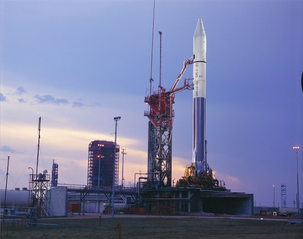Rakieta Atlas-Centaur w Complex 36 /NASA