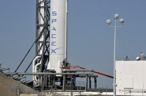 Rakieta Falcon firmy SpaceX /AFP