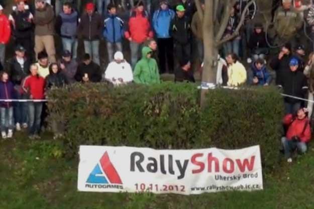 RallyShow Brod 2012 w miejscowości Uherský Brod. To na tym rajdzie doszło do tragedii /