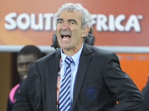 Ramond Domenech stracił posadę selekcjonera, a potem dyrektora technicznego reprezentacji Francji /AFP