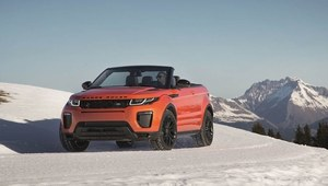 Range Rover Evoque Convertible - terenowy kabriolet
