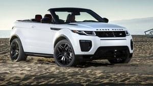 Range Rover Evoque Convertible wyceniony