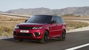 Range Rover Sport po zauważalnych zmianach