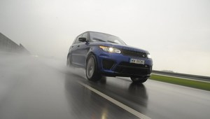 Range Rover Sport SVR - ekstremalny, ale luksusowy