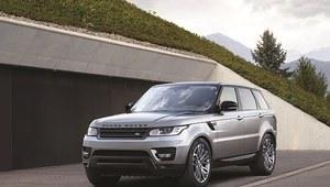 Range Rover Sport z 4-cylindrowym silnikiem