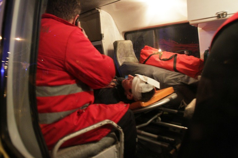 Ranny po starciach z milicją /AFP