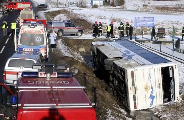 Rannych zostało 14 osób /INTERIA.PL/PAP