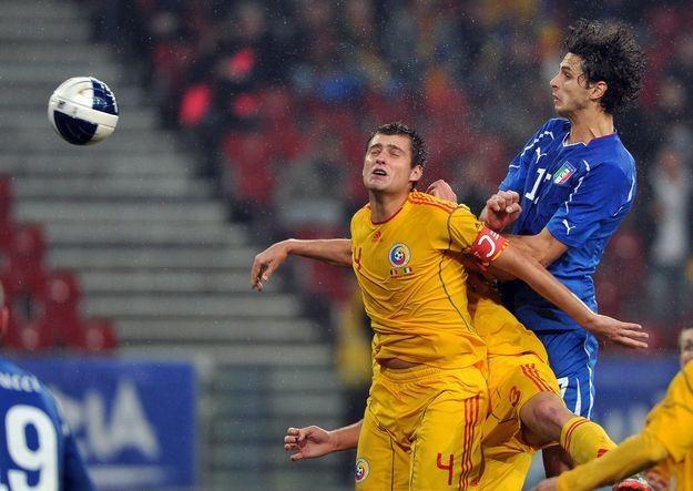 Ranocchia w meczu Włochy - Rumunia rozegranym w Klagenfurcie /AFP