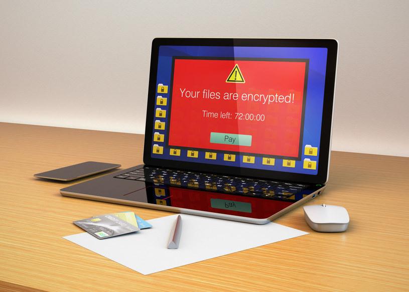 Ransomware to nadal bardzo duże zagrożenie dla korzystajacych z komputerów, a ostatnio również ze smartfonów /123RF/PICSEL