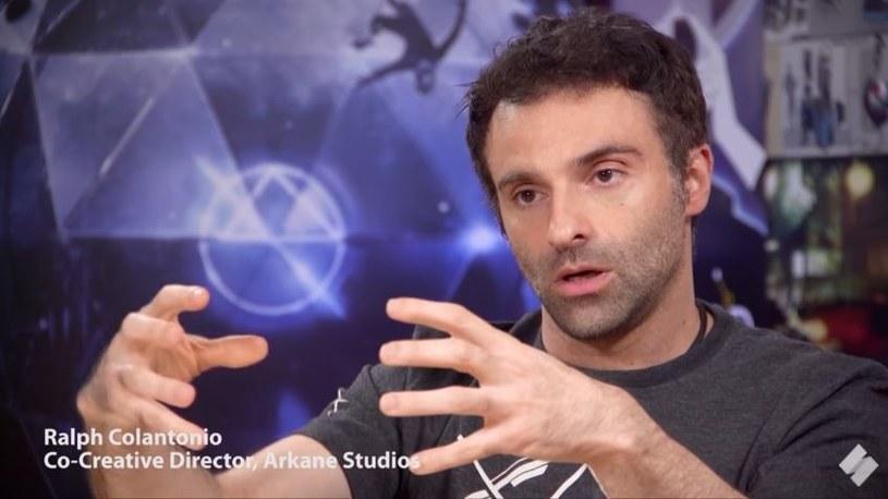 Raphael Colantonio / zdjęcie z wywiadu umieszczonego na kanale Stevivor na YouTube /materiały źródłowe