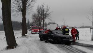 Raport naszego użytkownika: Groźny wypadek pod Świebodzinem