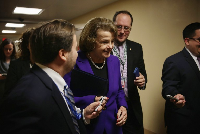 Raport przedstawiła senator Dianne Feinstein /AFP