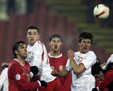 Rasiak (z prawej) rozegrał 37 spotkań w reprezentacji Polski /AFP