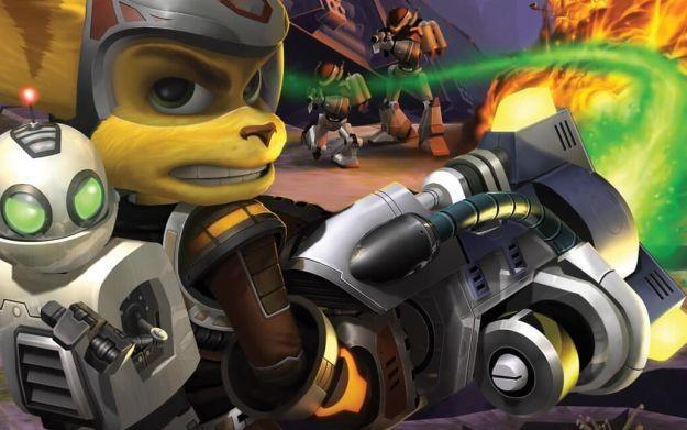 Ratchet & Clank 3 - motyw graficzny /Informacja prasowa