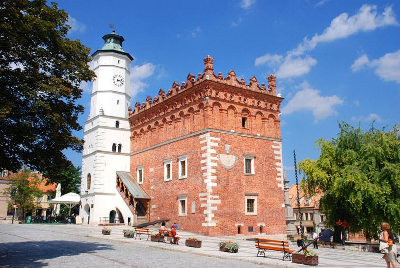 Ratusz w Sandomierzu /123/RF PICSEL