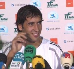 Raul Gonzalez Blanco /INTERIA.PL