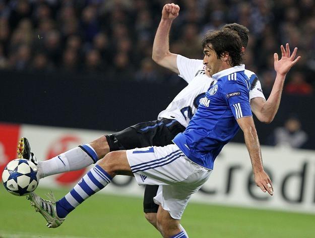 Raul, gwiazda Schalke 04 Gelsenkirchen /AFP