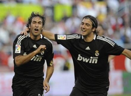 """Raul=Real - stare porzekadło znów się sprawdziło. Napastnik """"Królewskich"""" zdobył 3 gole /AFP"""