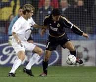Raul (z prawej) - strzelec jednej z bramek dla Realu