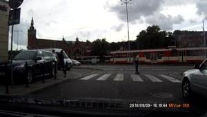 Reakcja kierowcy była natychmiastowa!