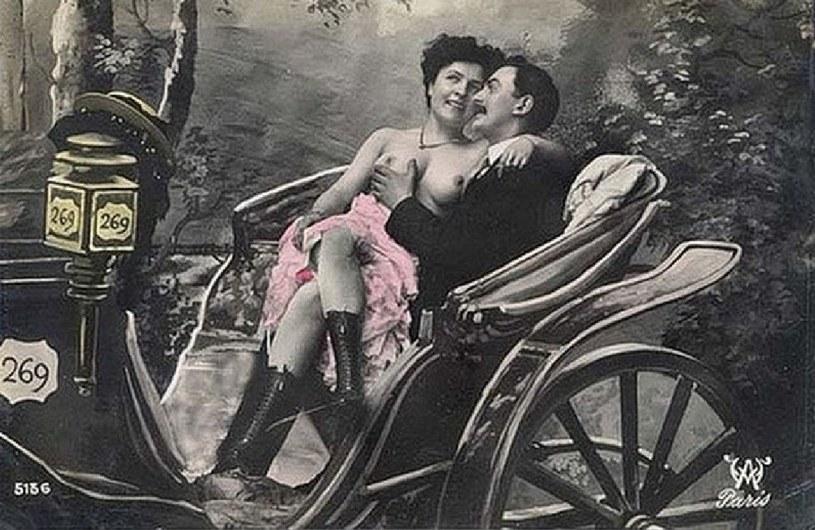 Realia życia przytłaczającej większości prostytutek z przełomu XIX i XX w. wyglądały diametralnie inaczej niż na załączonym obrazku /Domena publiczna /INTERIA.PL/materiały prasowe