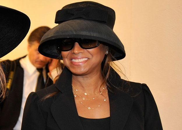 Rebbie Jackson: Zdjęcie z ceremonii pożegnalnej Michaela Jacksona /Getty Images/Flash Press Media