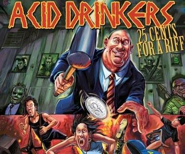 """Recenzja Acid Drinkers """"25 Cents For A Riff"""": Döbrze znany fyrtel"""