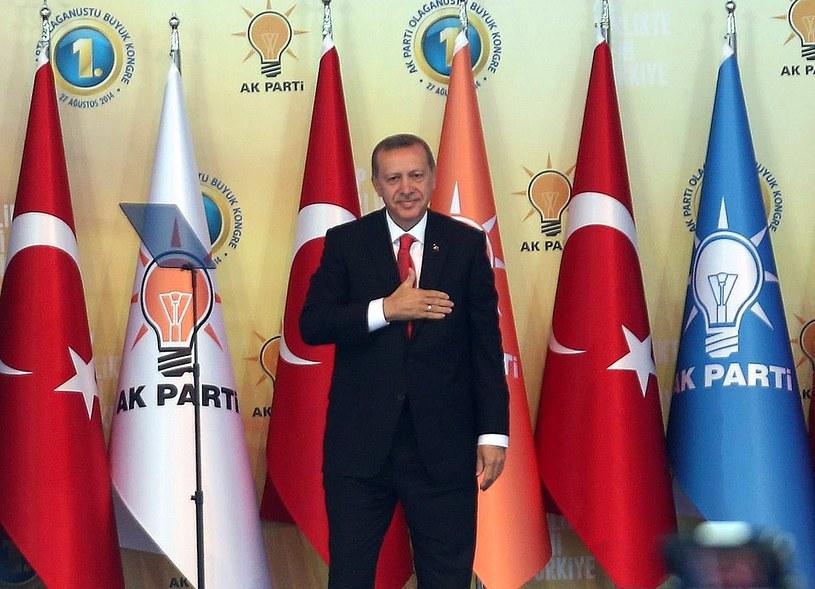 Recep Tayyip Erdogan został w czwartek w parlamencie zaprzysiężony na prezydenta Turcji. /ADEM ALTAN /AFP