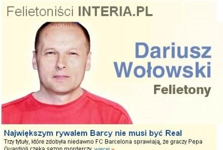 Red. Dariusz Wołowski. /INTERIA.PL