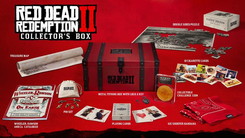 Red Dead Redemption 2 - edycja kolekcjonerska /materiały prasowe