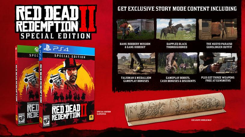 Red Dead Redemption 2 - edycja specjalna /materiały prasowe