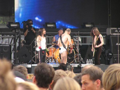 Red Hot Chili Peppers w komplecie /INTERIA.PL