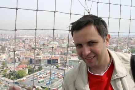 Red. Roman Kołtoń. Fot. Maciej Śmiarowski. /Agencja Przegląd Sportowy