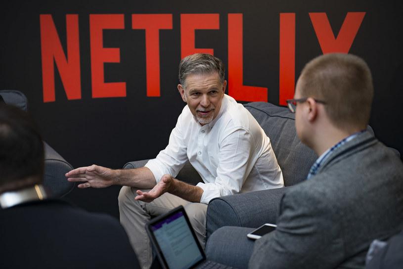 Reed Hastings podczas polskiej premiery Netfliksa /materiały prasowe