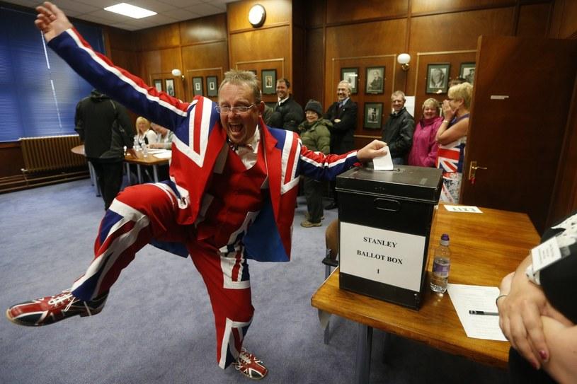 Referendum na Falklandach /PAP/EPA