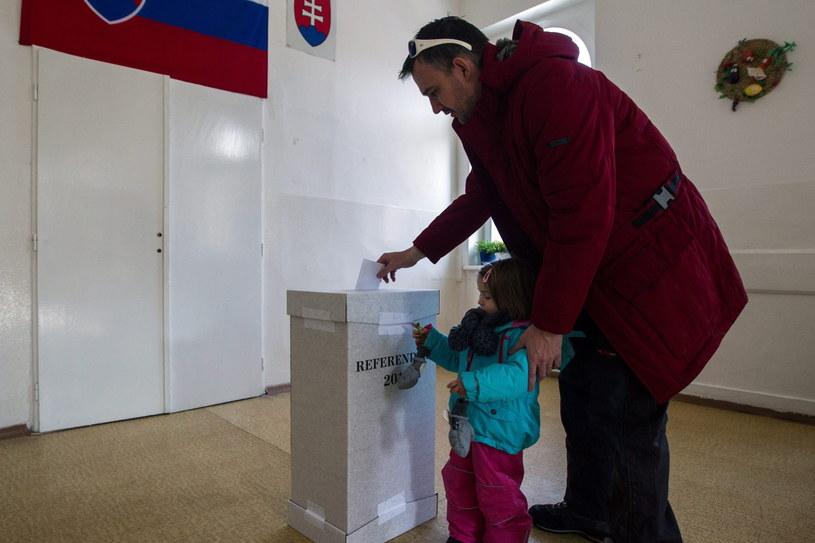 Referendum na Słowacji /PAP/EPA