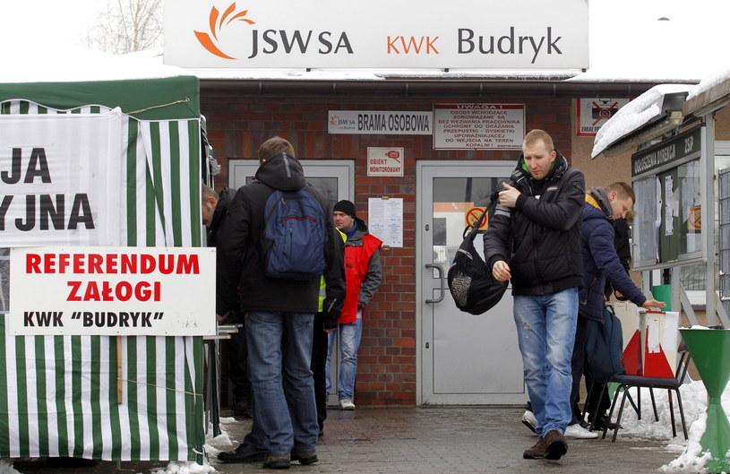 Referendum ws. akcji protestacyjnej pracowników Jastrzębskiej Spółki Węglowej /Andrzej Grygiel /PAP